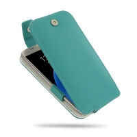 10% OFF + FREE SHIPPING, Buy Best PDair Quality Handmade Protective Samsung Galaxy S7 Genuine Leather Flip Top Case (Aqua) online You also can go to the customizer to create your own stylish leather case if looking for additional colors, patterns and type