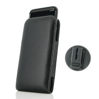 Leather Vertical Pouch Belt Clip Case for Samsung Galaxy S8 (in Slim Case/Cover)