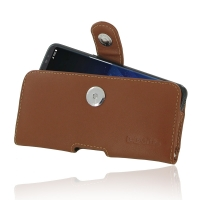 Leather Horizontal Pouch Case with Belt Clip for Samsung Galaxy S8 (Brown)