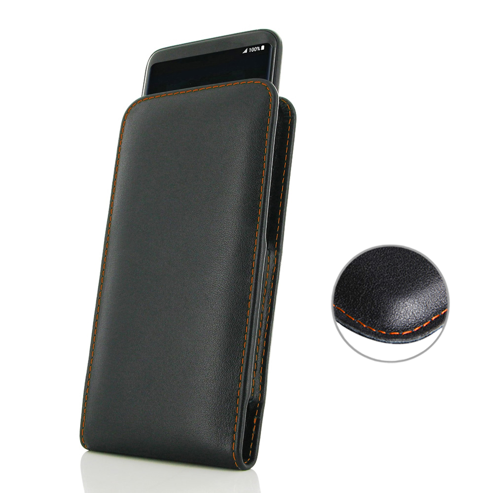 10% OFF + FREE SHIPPING, Buy Best PDair Handmade Protective Samsung Galaxy S8 Leather Sleeve Pouch Case (Orange Stitch). Pouch Sleeve Holster Wallet  You also can go to the customizer to create your own stylish leather case if looking for additional color