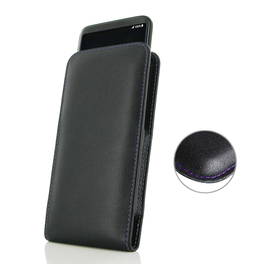 10% OFF + FREE SHIPPING, Buy Best PDair Handmade Protective Samsung Galaxy S8 Leather Sleeve Pouch Case (Purple Stitch). Pouch Sleeve Holster Wallet  You also can go to the customizer to create your own stylish leather case if looking for additional color