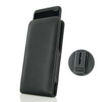 Leather Vertical Pouch Belt Clip Case for Samsung Galaxy S8