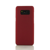 Rubberized Hard Cover for Samsung Galaxy S8 (Red)