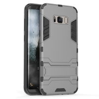 Samsung Galaxy S8 Tough Armor Protective Case (Grey)