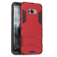 Samsung Galaxy S8 Tough Armor Protective Case (Red)