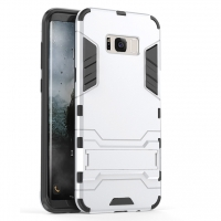 Samsung Galaxy S8 Tough Armor Protective Case (Silver)