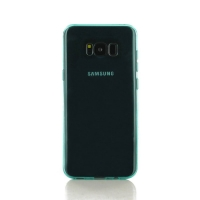 Highly Transparent Soft Gel Plastic Case for Samsung Galaxy S8 (Aqua)