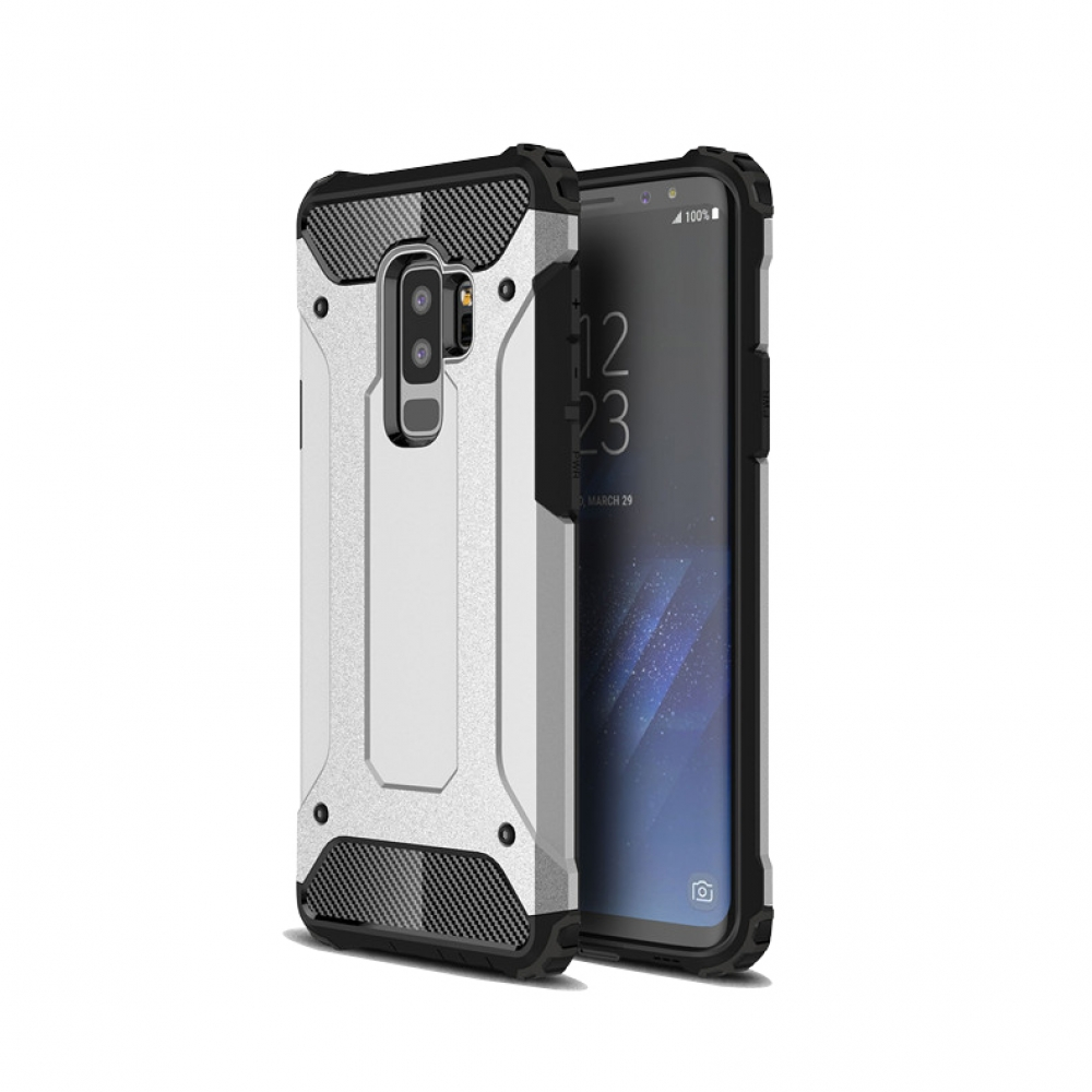 10% OFF + FREE SHIPPING, Buy the BEST PDair Premium Protective Carrying Samsung Galaxy S9   Hybrid Dual Layer Tough Armor Protective Case (Silver). Exquisitely designed engineered for Samsung Galaxy S9 .