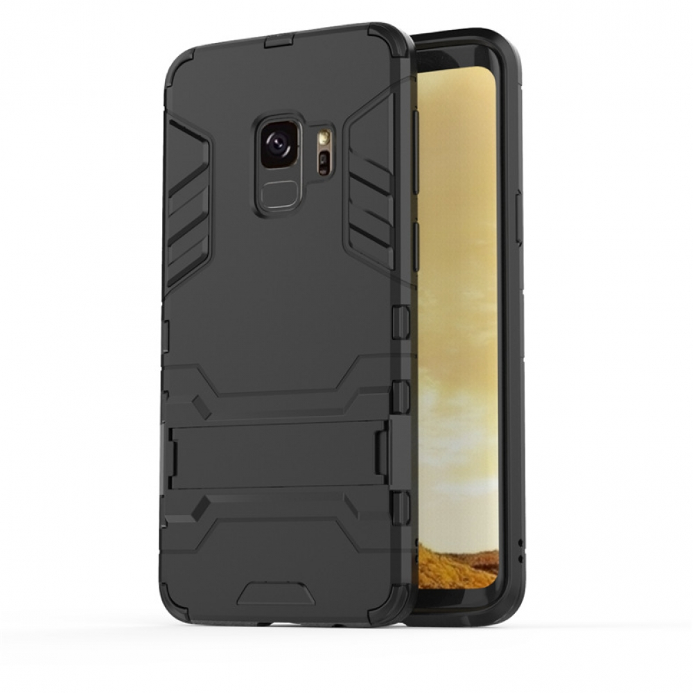 Samsung Galaxy S9 Plus | S9+ Tough Armor Protective Case (Black)