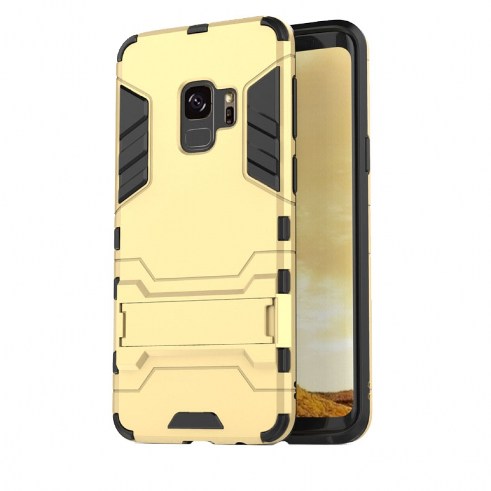 Samsung Galaxy S9 Plus | S9+ Tough Armor Protective Case (Gold)