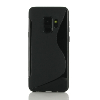 10% OFF + FREE SHIPPING, Buy the BEST PDair Premium Protective Carrying Samsung Galaxy S9 Soft Case (Black S Shape pattern). Exquisitely designed engineered for Samsung Galaxy S9.