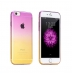 Gradient iPhone 6s 6 Plus SE 5s 5 Soft Clear Case (Purple to Yellow) protective carrying case by PDair
