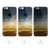iPhone 6s 6 Plus SE 5s 5 Pattern Printed Soft Clear Case (Sunset Scenery) protective carrying case by PDair