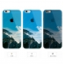 iPhone 6s 6 Plus SE 5s 5 Soft Clear Case (Mountain Cloud Scenery) protective carrying case by PDair