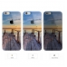 iPhone 6s 6 Plus SE 5s 5 Soft Clear Case (Lake Wood Brige Scenery) protective carrying case by PDair