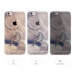 iPhone 6s 6 Plus SE 5s 5 Pattern Printed Soft Clear Case (Unicorn Moon) protective carrying case by PDair