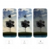 iPhone 6s 6 Plus SE 5s 5 Pattern Printed Soft Clear Case (Tree Scenery) protective carrying case by PDair