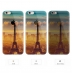 iPhone 6s 6 Plus SE 5s 5 Soft Clear Case (Paris Eiffel Tower Scenery) protective carrying case by PDair