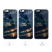 iPhone 6s 6 Plus SE 5s 5 Soft Clear Case Sunset Forest Scenery protective carrying case by PDair