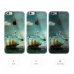 iPhone 6s 6 Plus SE 5s 5 Soft Clear Case (Sailing Boat in a Bottle) protective carrying case by PDair