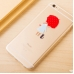 iPhone 6s 6 Plus SE 5s 5 Soft Clear Case (Girl Bring Red Umbrella) protective carrying case by PDair
