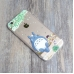 iPhone 6s 6 Plus SE 5s 5 Soft Clear Case Totoro Tree with satsuki kusakabe protective carrying case by PDair