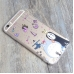 iPhone 6s 6 Plus SE 5s 5 Soft Clear Case (Totoro Chu Chibi No Face) protective carrying case by PDair