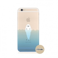 Seal Sea Swim iPhone 6s 6 Plus SE 5s 5 Pattern Printed Soft Case