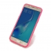 Samsung Galaxy J5 2016 Soft Case (Pink S Shape pattern) protective carrying case by PDair