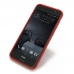 HTC One A9 Soft Case (Red S Shape pattern) protective carrying case by PDair