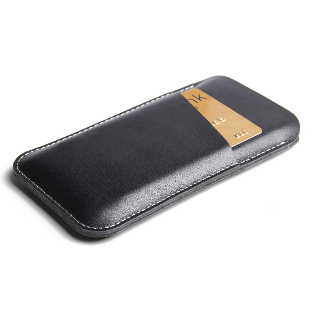 competitive price b93c8 e11fe Simple Leather Card Holder Sleeve Pouch Case for Apple iPhone SE