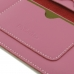 iPhone 8 Leather Sleeve Wallet (Petal Pink) genuine leather case by PDair