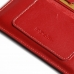 iPhone 8 Plus Leather Sleeve Wallet (Red) top quality leather case by PDair