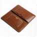 iPhone 8 Plus Leather Sleeve Wallet (Brown) handmade leather case by PDair