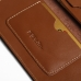 iPhone 8 Plus Leather Sleeve Wallet (Brown) top quality leather case by PDair