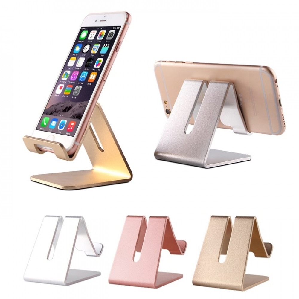 Aluminum Stand Holder for iPhone, Smartphone, Cell Phone, iPAD and Tablet :: PDair