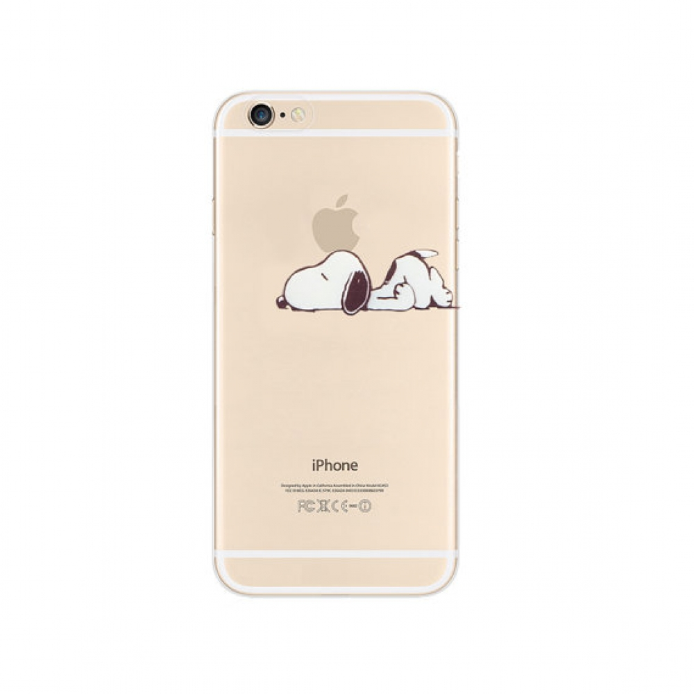 10% OFF + FREE SHIPPING, Buy PDair iPhone Soft Clear Case (Snoopy Lazy Sleep Nope) which is available for iPhone 5 | iPhone 5s, iPhone 6 | iPhone 6s, iPhone 6 Plus | iPhone 6s Plus, iPhone SE. You also can go to the customizer to create your own stylish l