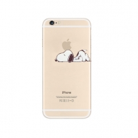 Snoopy Lazy Sleep Nope iPhone 6s 6 Plus SE 5s 5 Pattern Printed Soft Case