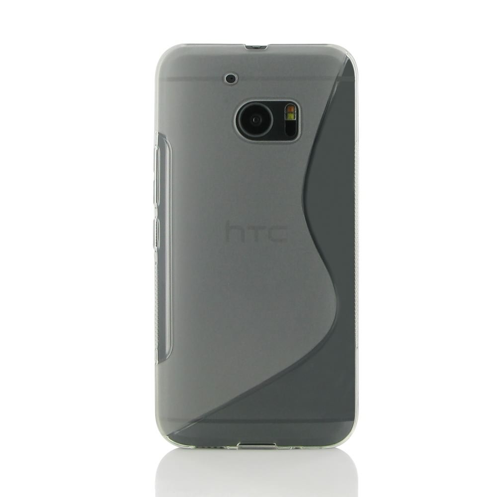 free shipping 5023c c661e HTC 10 Soft Case (Translucent S Shape pattern) :: PDair 10% OFF