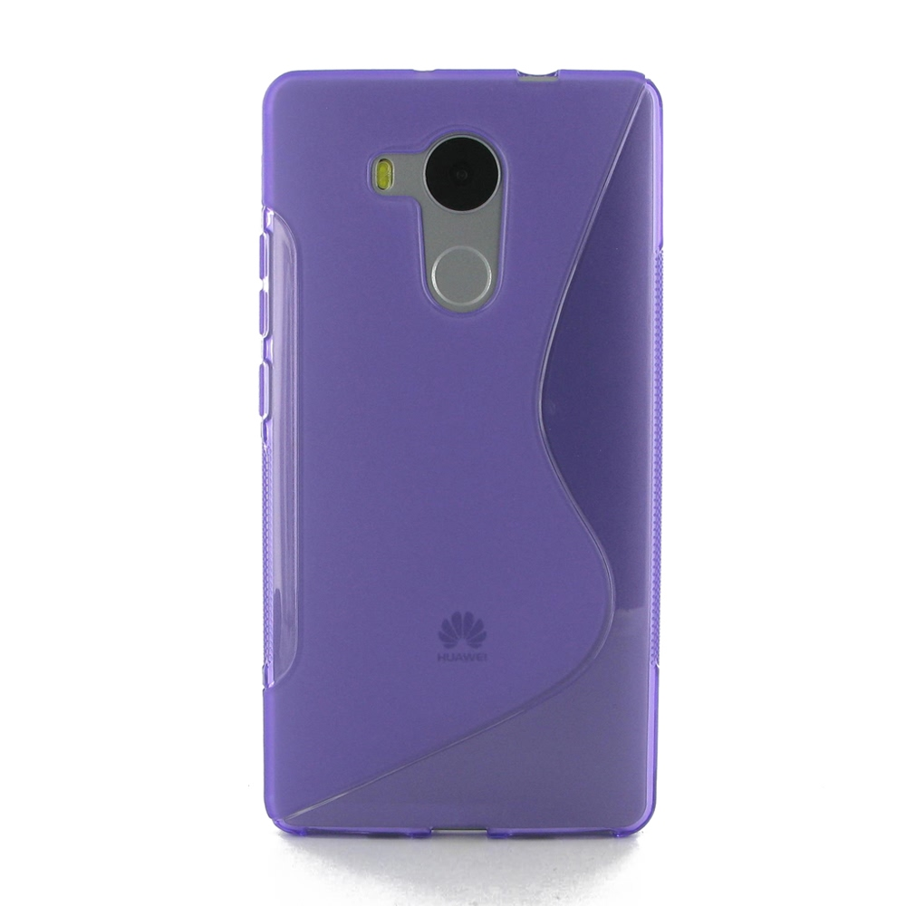 huawei mate 8 soft case purple s shape pattern pdair. Black Bedroom Furniture Sets. Home Design Ideas