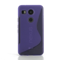 10% OFF + FREE SHIPPING, Buy Best PDair Top Quality Protective Google Nexus 5X Soft Case (Purple S Shape pattern) online. You also can go to the customizer to create your own stylish leather case if looking for additional colors, patterns and types.