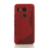 10% OFF + FREE SHIPPING, Buy Best PDair Quality Protective Google Nexus 5X Soft Case (Red S Shape pattern) online. You also can go to the customizer to create your own stylish leather case if looking for additional colors, patterns and types.