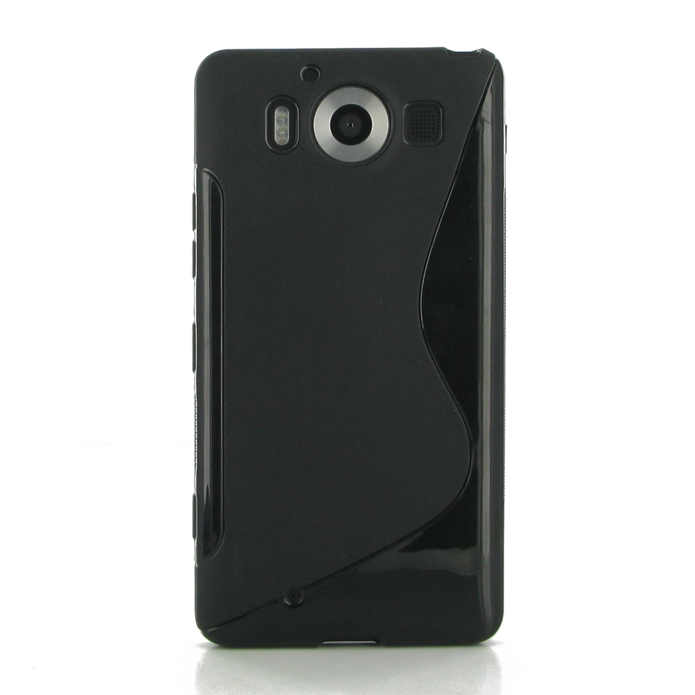 10% OFF + FREE SHIPPING, Buy Best PDair Top Quality Protective Microsoft Lumia 950 Soft Case (Black S Shape pattern) online. You also can go to the customizer to create your own stylish leather case if looking for additional colors, patterns and types.