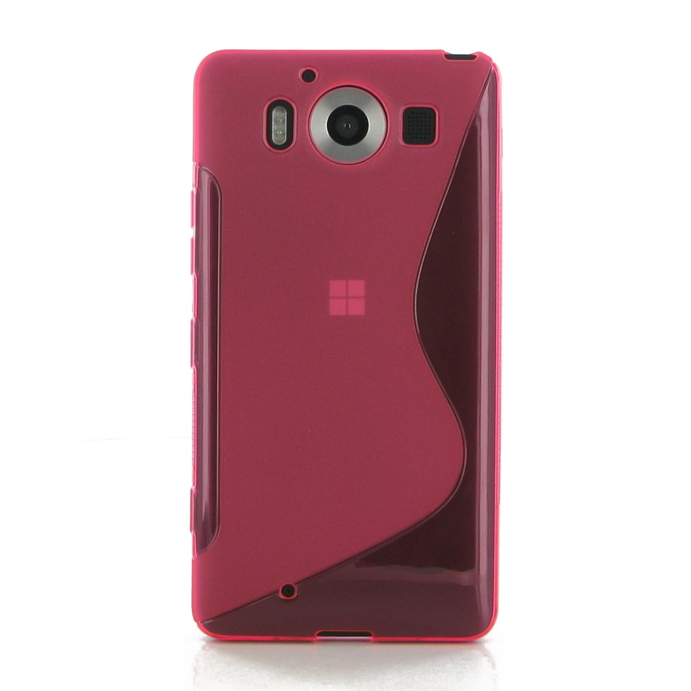 10% OFF + FREE SHIPPING, Buy Best PDair Top Quality Protective Microsoft Lumia 950 Soft Case (Pink S Shape pattern) online. You also can go to the customizer to create your own stylish leather case if looking for additional colors, patterns and types.