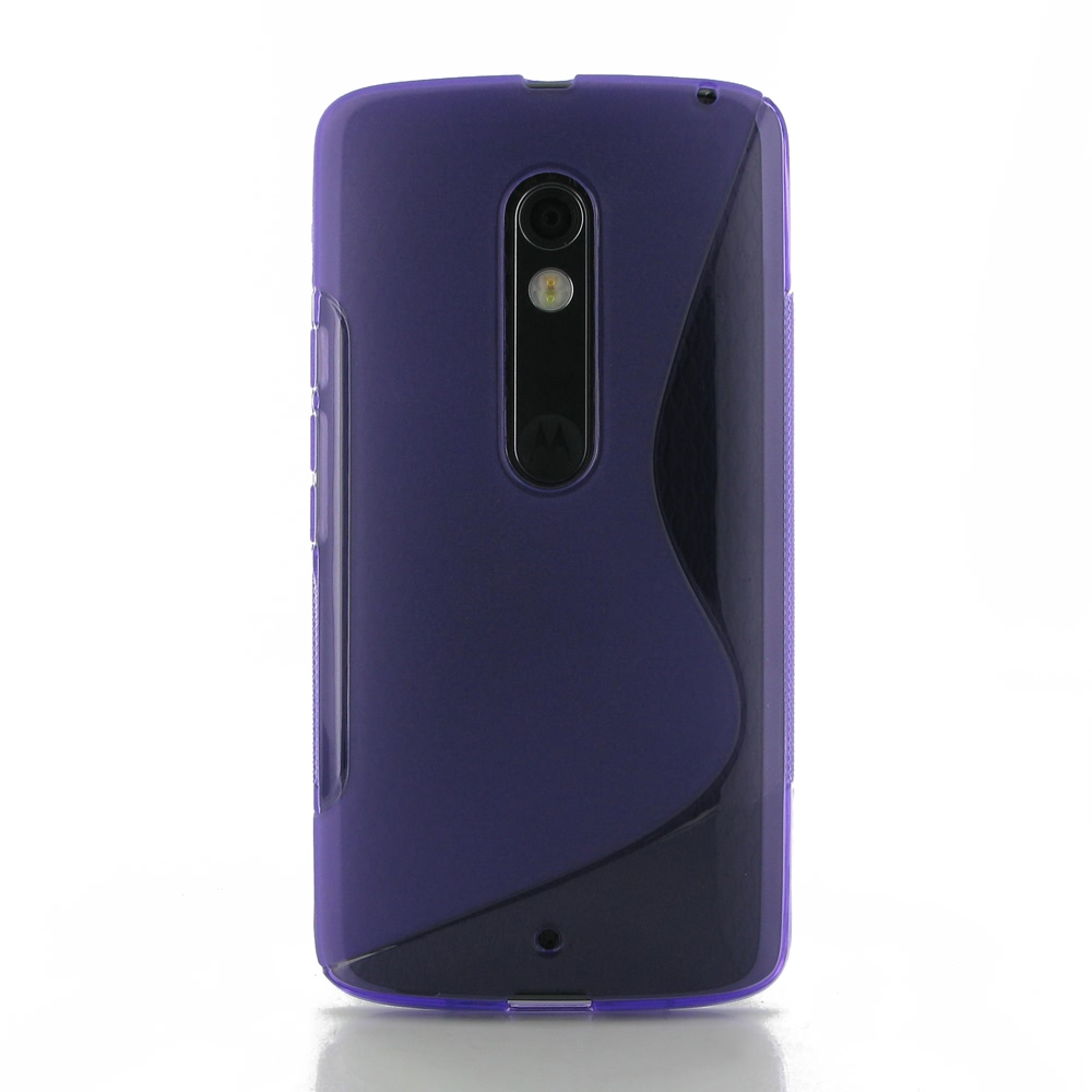 10% OFF + FREE SHIPPING, Buy Best PDair Quality Protective Moto X Play Soft Case (Purple S Shape pattern) online. You also can go to the customizer to create your own stylish leather case if looking for additional colors, patterns and types.