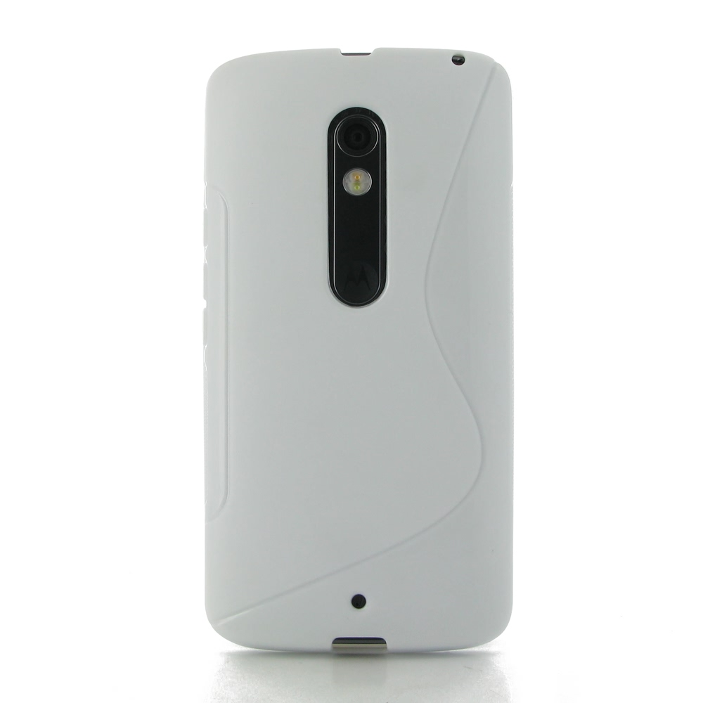 10% OFF + FREE SHIPPING, Buy Best PDair Quality Protective Moto X Play Soft Case (White S Shape pattern) online. You also can go to the customizer to create your own stylish leather case if looking for additional colors, patterns and types.
