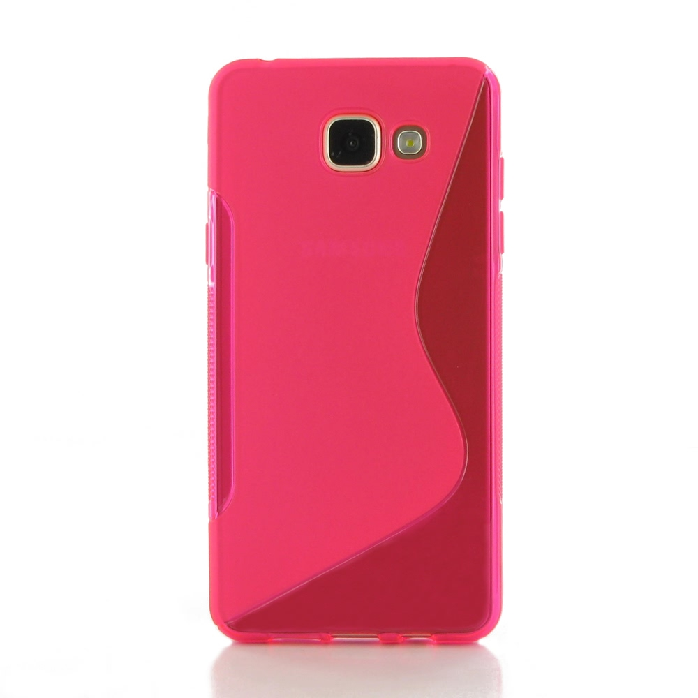 10% OFF + FREE SHIPPING, Buy Best PDair Top Quality Protective Samsung Galaxy A5 2016 Soft Case (Pink S Shape pattern) online. You also can go to the customizer to create your own stylish leather case if looking for additional colors, patterns and types.