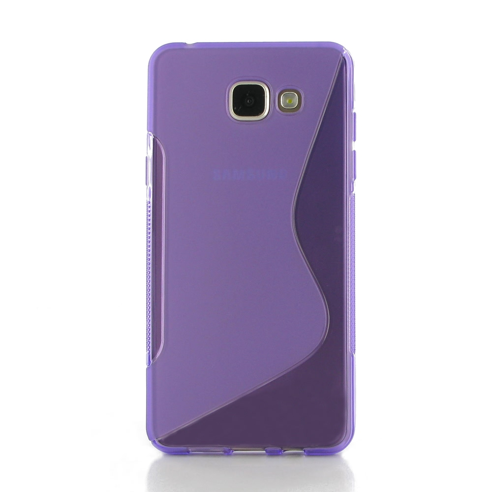 samsung galaxy a5 2016 soft case purple s shape pattern pdair. Black Bedroom Furniture Sets. Home Design Ideas