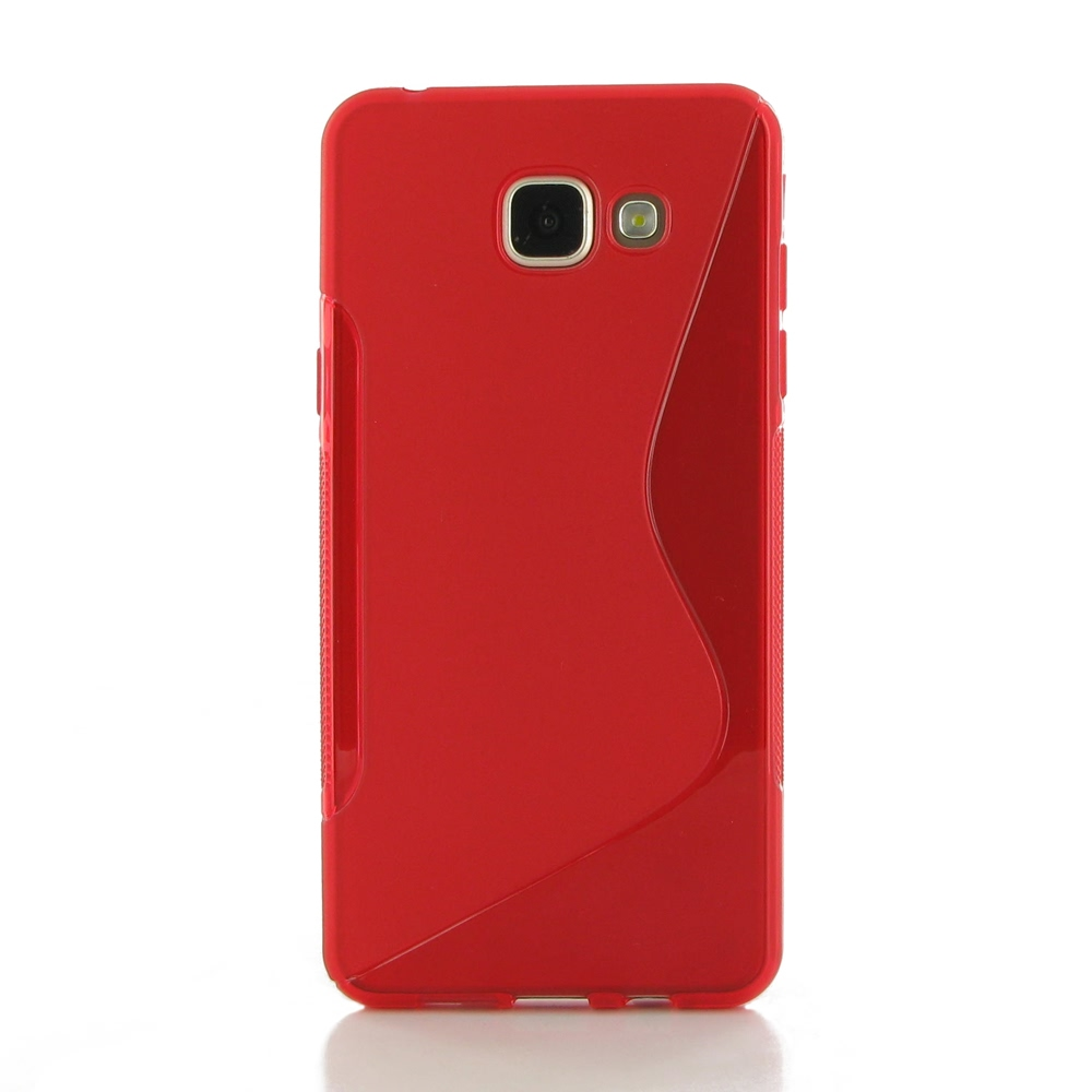 10% OFF + FREE SHIPPING, Buy Best PDair Top Quality Protective Samsung Galaxy A5 2016 Soft Case (Red S Shape pattern) online. You also can go to the customizer to create your own stylish leather case if looking for additional colors, patterns and types.
