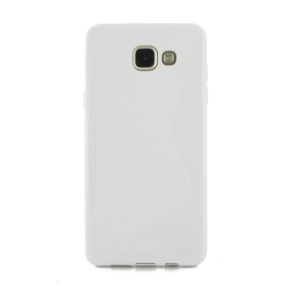 samsung galaxy a5 2016 soft case white s shape pattern pdair. Black Bedroom Furniture Sets. Home Design Ideas